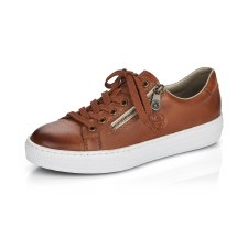 Rieker 'L59L1' Ladies Shoes (Tan)
