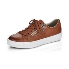 Rieker 'L59L1' Ladies Shoes (Tan)