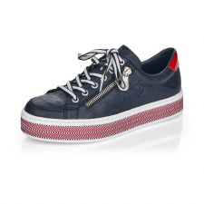 Rieker 'L89C1' Ladies Shoes (Navy)