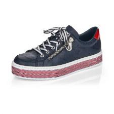 Rieker 'L89C1' Ladies Shoes (Navy)