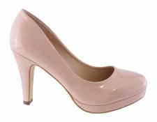 Susst 'Laura' Ladies Heels (Nude Patent)