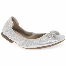 Lelli Kelly 'Magiche 4102' Girls Shoes (Silver)