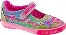 Lelli Kelly '5072' Girls Shoes (Multi Glitter)