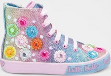Lelli Kelly '5096' Girls Boots (Multi Glitter)