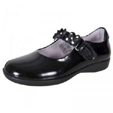 Lelli Kelly 'Dolly Holly' School Shoe (Black Patent)