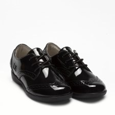 Lelli Kelly '8283 Beverly' Girls School Shoes (Black Patent)