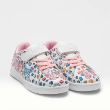 Lelli Kelly '1810 Sport' Girls Shoes (White Multi)