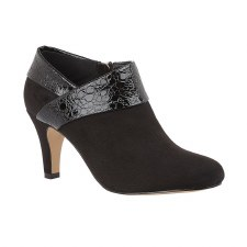 Lotus 'Angela' Ladies Shoe Boots (Black)