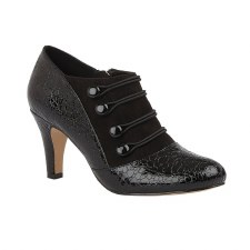 Lotus 'Ivy' Ladies Shoe Boots (Black)