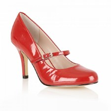 Lotus 'Serenoa' Ladies Heels (Red)