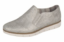 Rieker 'M1350' Ladies Comfort Shoes (Ice)