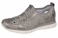 Rieker 'M5261' Ladies Shoes (Silver)