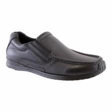 Morgan & Co '340B' Boys Shoes (Black)