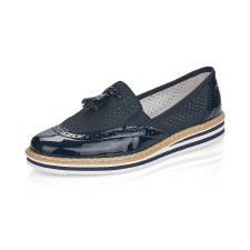 Rieker 'N0527' Ladies Shoes (Navy)