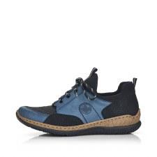 Rieker 'N3253' Ladies Shoes (Blue/Black)