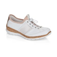 Rieker 'N42G8' Ladies Shoes (White)