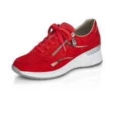 Rieker 'N4306' Ladies Shoes (Red)