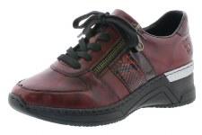 Rieker 'N4321' Ladies Shoes (Wine)
