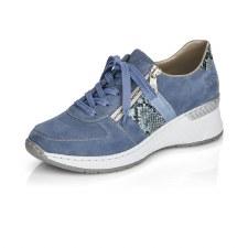 Rieker 'N4321' Ladies Shoes (Blue)