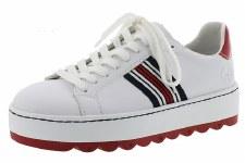 Rieker 'N4622' Ladies Shoes (White Multi)