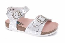 Pablosky '465754' Girls Sandals (Silver)