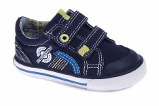 Pablosky '953421' Boys Canvas Shoes (Navy)