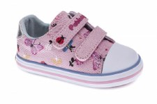 Pablosky '953971' Girls Canvas Shoes (Pink Glitter)