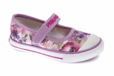Pablosky '954971' Girls Canvas Shoes (Pink Glitter)