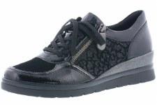 Remonte 'R0701' Ladies Shoes (Black)