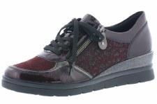 Remonte 'R0701' Ladies Shoes (Bordo)