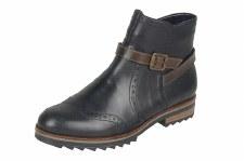 Remonte 'R2278' Ladies Ankle Boots (Black)