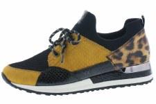 Remonte 'R2503' Ladies Shoes (Black/Leopard)