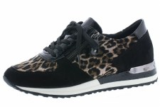 Remonte 'R2504' Ladies Shoes (Black/Leopard)
