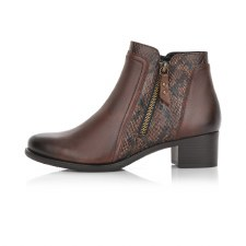 Remonte 'R5172' Ladies Ankle Boots (Coffee)
