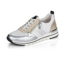 Remonte 'R6702' Ladies Shoes (White/Silver)