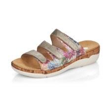 Remonte 'R6851' Ladies Sandals (Pearl Multi)
