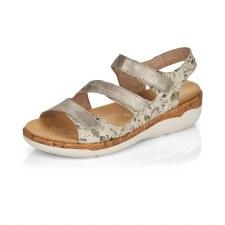 Remonte 'R6852' Ladies Sandals (Pearl Multi)
