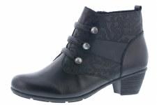 Remonte 'R7577' Ladies Ankle Boots (Black)