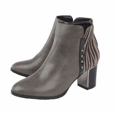 Lotus 'Rebel' Ladies Ankle Boots (Grey)