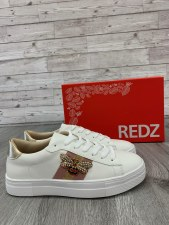 Redz '9768' Ladies Shoes (White)