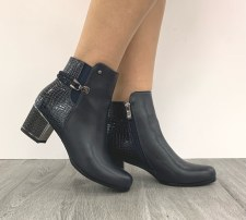 Redz 'F1064' Ladies Ankle Boots (Navy)