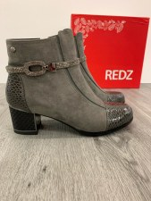 Redz 'F1065' Ladies Ankle Boots (Grey)