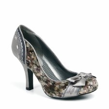 Ruby Shoo 'Amy' Ladies Heels (Pewter)