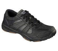 Skechers 'Relaxed Fit - Larson' Mens Shoes (Black)