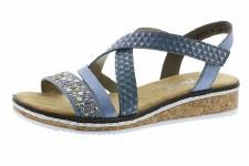 Rieker 'V3663' Ladies Sandals (Blue)