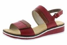 Rieker 'V36B9' Ladies Sandals (Red)