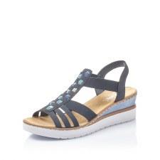 Rieker 'V3822' Ladies Sandals (Navy)