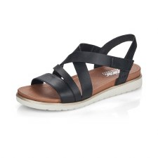 Rieker 'V5073' Ladies Sandals (Black)