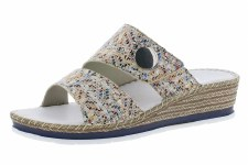Rieker 'V6094' Ladies Sandals (Pebble Multi)