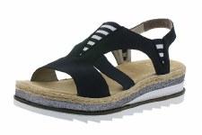 Rieker 'V79Y7' Ladies Sandals (Navy)